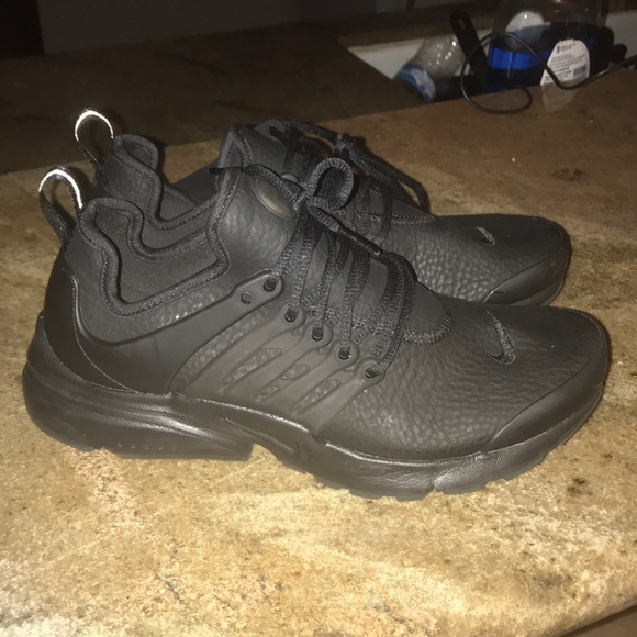 quality biggest discount performance sportswear Nike air presto, used only 1-2x. Leather.